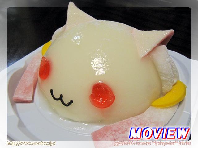 キュゥべえフェイスケーキ