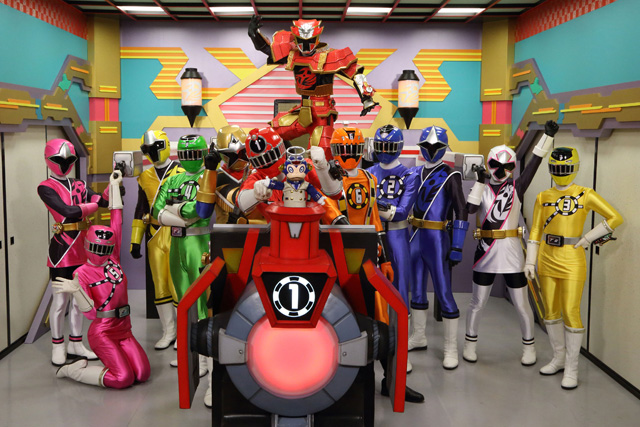 手裏剣戦隊ニンニンジャーVSトッキュウジャー THE MOVIE  忍者・イン・ワンダーランド