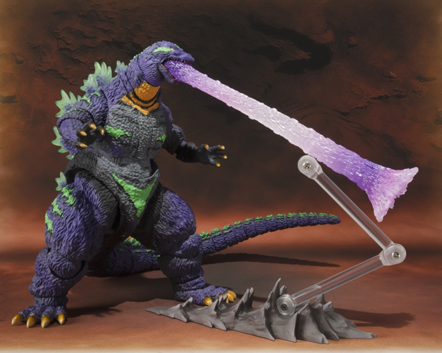 S.H.MonsterArts ゴジラ feat.EVA-01