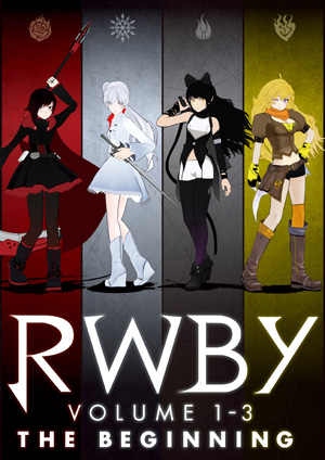 RWBY VOLUME 1-3:The Beginning