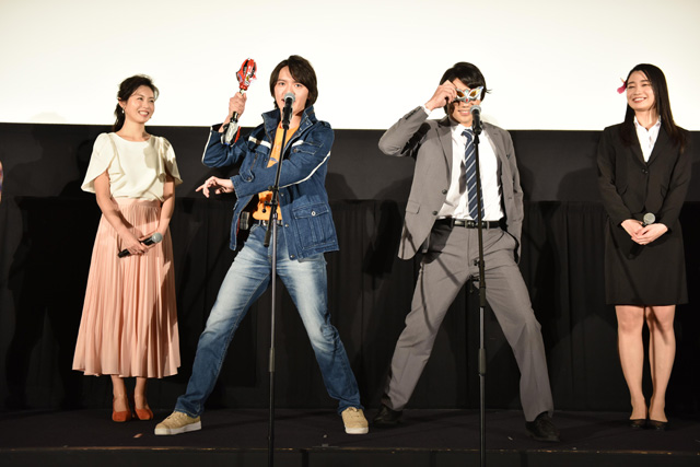 劇場版 ウルトラマンジード つなぐぜ! 願い!!