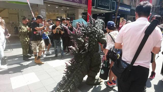 ゴジラ特別展in 台湾