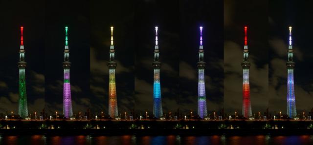 『鬼滅の刃』天空への願い TOKYO SKYTREE