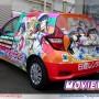 Aqoursメンバーが描かれた『ラブライブ!サンシャイン!!』レンタカー