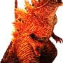 バーニング・ゴジラ(2019)が西宮で世界初お披露目! 高さは2m!